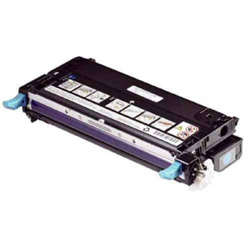 Dell 3130cn (330-1199, H513C) High Yield Cyan Toner Cartridge