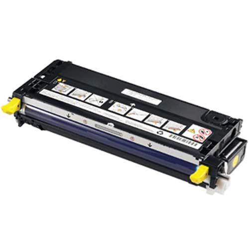 Dell 3130cn (330-1204, H515C) High Yield Yellow Toner Cartridge