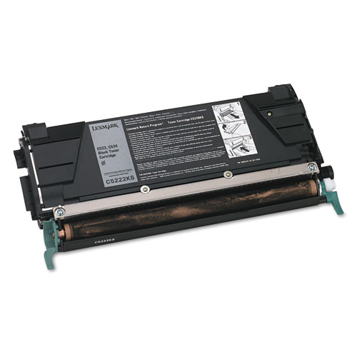Lexmark C5222KS Black Laser Toner Cartridge