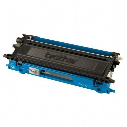 Brother TN115C TN110BK Remanufactured Cyan Color Laser Toner