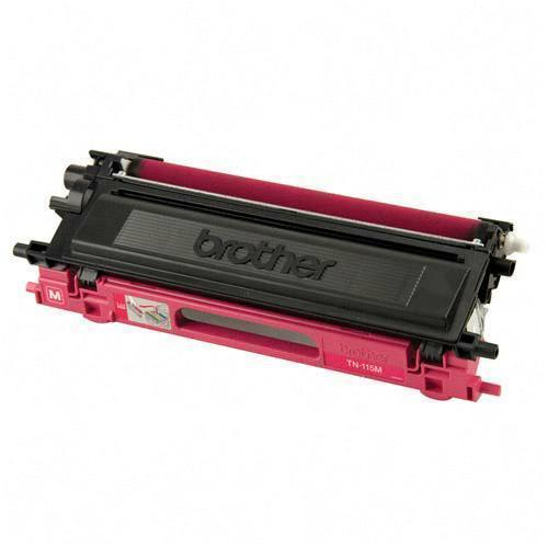 Brother TN115M TN110M Remanufactured Magenta Color Laser Toner