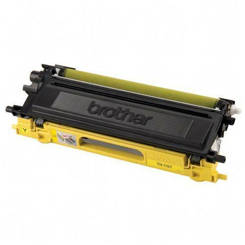 Brother TN115Y TN110Y Remanufactured Yellow Color Laser Toner Ca